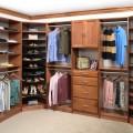 Cinnamon Maple Closet