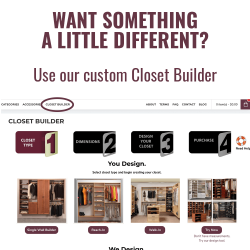 84 inch Hanging Closet System with Shelf and Drawers