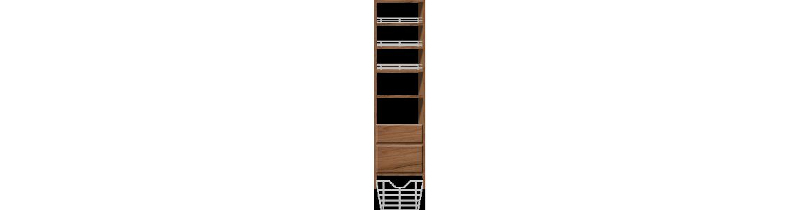 Drawers & Shoe Shelves & Shelves
