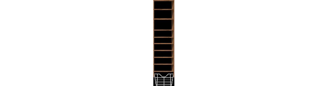9 Shelves